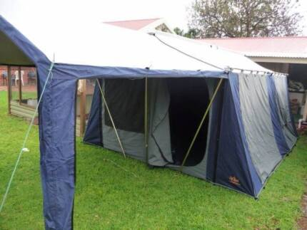 Canvas Cabin 12 man Tent & 15 man tent | Gumtree Australia Free Local Classifieds