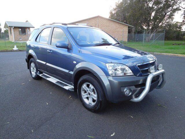 2004 Kia Sorento BL EX Blue 4 Speed Automatic Wagon