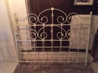 victorian style king size bed frame new