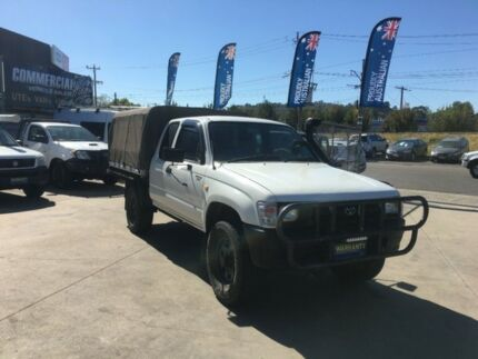 1998 Toyota Hilux LN172R (4x4) 5 Speed Manual 4x4 X Cab Cab Chassis & hilux canvas canopy for sale | Gumtree Australia Free Local ...