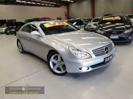 Nice 2005 Mercedes Benz CLS500 C219 Silver Sports Automatic Sedan