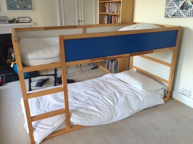 ikea kura bunk bed 1 mattress