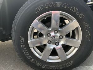 Jeep 5 Tires+rims Package