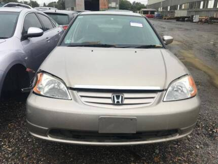 2002 HONDA CIVIC ES SEDAN   STOCK #HC1458