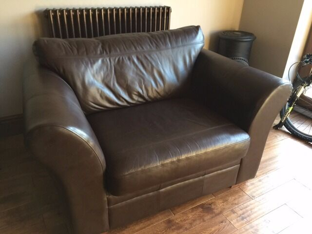 Next Leather cuddle chair & Next Leather cuddle chair | in Prescot Merseyside | Gumtree