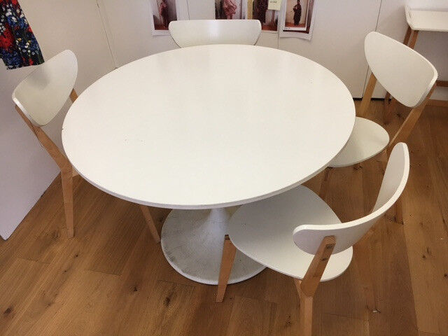 Incroyable Docksta Table And 4 Chairs