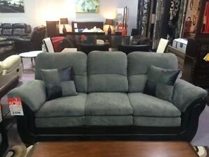 BRAND NEW CANADIAN MADE 3 PC SOFA, LOVESEAT U0026 CHAIR Part 74