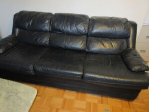 3   Piece Genuine Leather Sofa Set U2013 Sofa, Loveseat, Chair