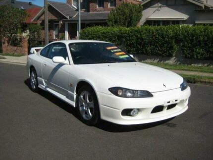 2000 Nissan Silvia S15 Spec R Pearl White 6 Speed Manual Coupe
