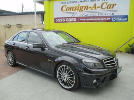 Exceptional 2009 Mercedes Benz C63 W204 AMG Edition 63 Black 7 Speed Sports Automatic  Sedan