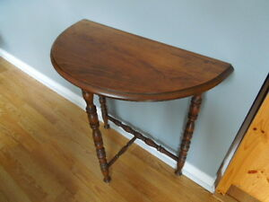 Antique Half Moon Tables