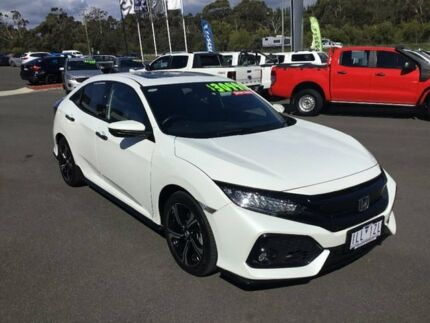 2017 Honda Civic White Constant Variable Hatchback