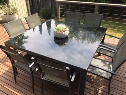 Large Outdoor Table Setting Including 8 Chairs | Dining Tables | Gumtree  Australia Geelong City   Waurn Ponds | 1165230501 Part 73