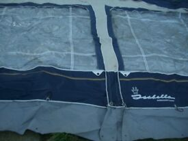 Isabella Ambassador Crown Awning Tent - VGC u003d CLACTON ON SEA - CO15 6AJ & 6 man dome tent by Leben Emden Blue good condition ORIGINAL RRP ...