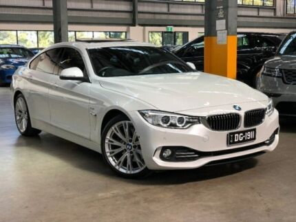 2015 BMW 428i F36 Luxury Line Gran Coupe 5dr Spts Auto 8sp 2.0T White Sports  Automatic Hatchback