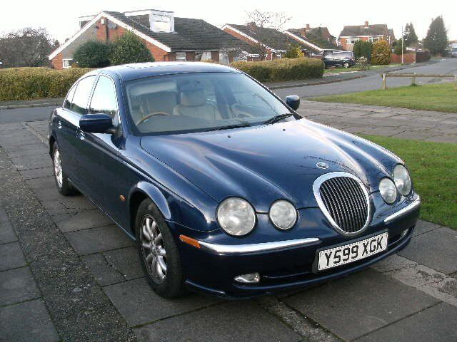 Great 2001 JAGUAR S TYPE 3.0 V6 AUTO BLUE