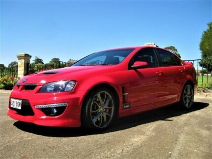 2009 Holden Special Vehicles Clubsport E Series 2 R8 Red 6 Speed Sports  Automatic Sedan