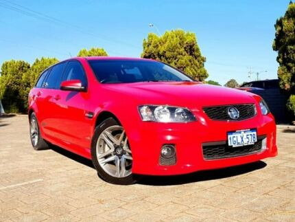2012 Holden Commodore VE II MY12 SS Sportwagon Red 6 Speed Sports Automatic  Wagon
