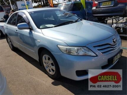 2009 Toyota Camry ACV40R Altise Light Blue Automatic Sedan