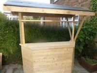 New Wooden Garden Bar