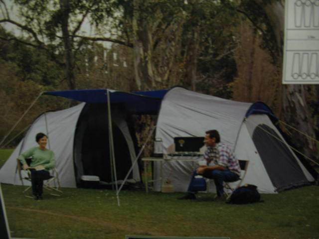 Jackeroo 8 person twin dome tent Hamilton Brisbane North East image 2. 1 of 3 & Jackeroo 8 person twin dome tent | Miscellaneous Goods | Gumtree ...