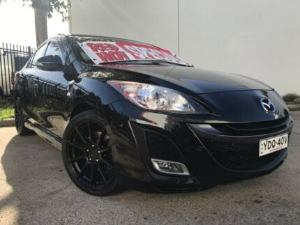 2009 Mazda 3 BL SP25 Black 6 Speed Manual Sedan