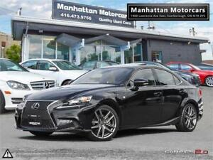 2015 LEXUS IS 250 AWD F SPORT |NAV|CAMERA|PHONE|B.