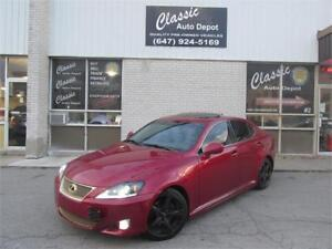 2007 LEXUS IS250 *6SPD,LEATHER,SUNROOF,UPGRADED!!!*