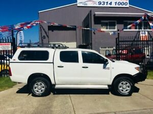 2006 Toyota Hilux KUN26R 06 Upgrade SR (4x4) 4 Speed Automatic Dual Cab Pick & hilux dual cab canopy | Cars u0026 Vehicles | Gumtree Australia Free ...