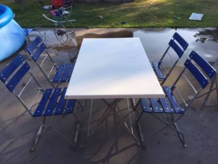 German Beer Garden Outdoor Table U0026 Chair Setting Part 28