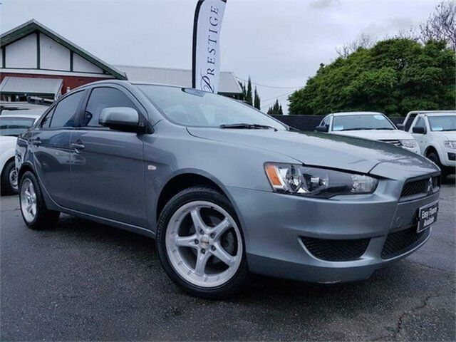 2013 Mitsubishi Lancer CJ MY13 ES Grey 6 Speed CVT Auto Sequential Sedan