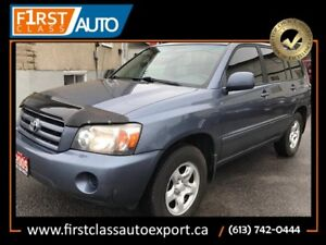 Toyota Highlander All Wheel Drive - Nice SUV For Family