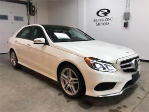 2014 Mercedes Benz E550 4matic, Loaded,near new