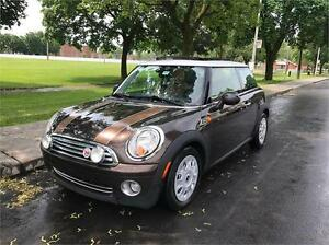 2010 MINI COOPER MAYFAIR S, AUTOMATIQUE, FULL LOAD, CUIR, TOIT