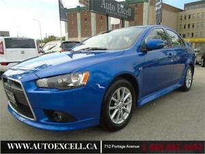 2015 Mitsubishi Lancer SE FWD 4CYL 2.0L MANUAL SUN ROOF
