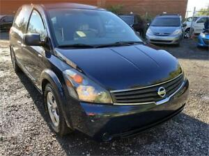 2008 Nissan Quest 7 PLACES/AUTO/AC/ CRUISE CONTROL