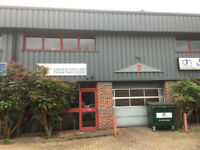 2100sq ft industrial unit for rent, commercial premises in Totton, Southampton. Lease