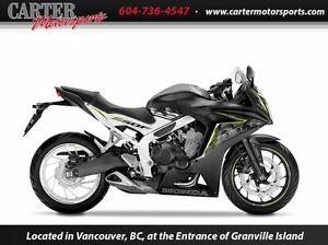2016 Honda CBR650FASG Special Edition - Save $800!