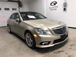 2010 Mercedes Benz E550, 4matic, only 88358km, Full loaded