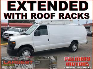 2014 Ford E-250 Extended Roof Racks