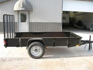 5X10 Utility Trailer with Steel Sides only 3 left London Ontario image 3