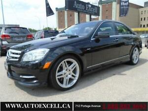 2011 Mercedes-Benz C-Class C 350 4MATIC AWD LEATHER SUN ROOF