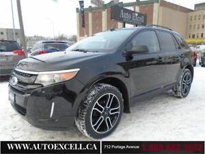 2014 Ford Edge SEL SPORT APPEARANCE PACKAGE AWD 3.5L 6CYL NAVI