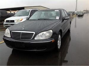 2003 Mercedes S500 Fully Loaded (leather/sunroof)
