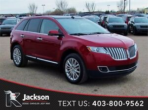 2013 Lincoln MKX AWD - NAV, Heated/Cooled Leather