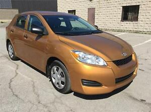 TOYOTA MATRIX  2010 AUTUMATIC EXTRA CLEAN 140000KM CERTIFIED