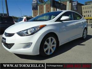 2013 Hyundai Elantra Limited w/Navi 4CYL 1.8L BACK UP CAMERA