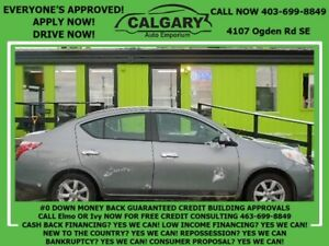 2012 Nissan Versa 1.6 SL *$99 DOWN EVERYONE APPROVED*