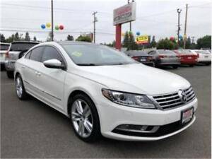 2013 VOLKSWAGEN CC AUTOMATIC 55KM LEATHER SUNROOF