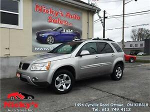 2007 Pontiac Torrent SPORT, ALLOY WHEELS, SUNROOF, ACCIDENT FREE